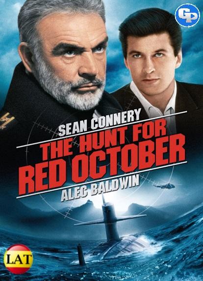 La Caza del Octubre Rojo (1990) LATINO