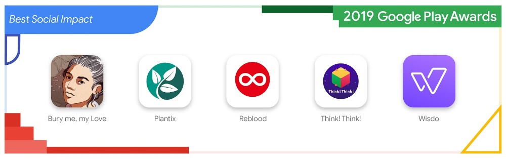 Daftar Nominasi Dan Pemenang Google Play Awards 2019 - Dampak Sosial Terbaik