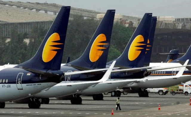 These pilots of Jet Airways will have a big blow, salary cut by 30%!