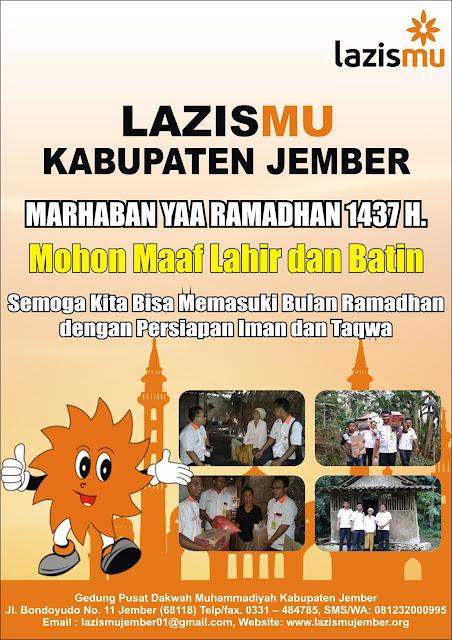 Marhaban Yaa Ramadhan 1437 H