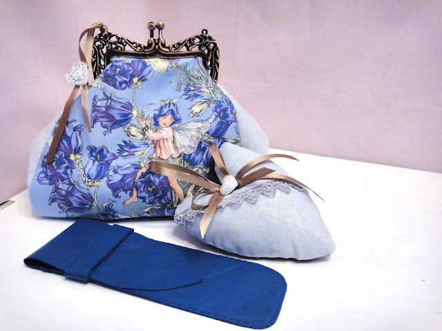 Подарок дочери: сумочка Эльф- колокольчик, сердечко-саше, чехол для кистей и карандашей Подарок девочке-подростку