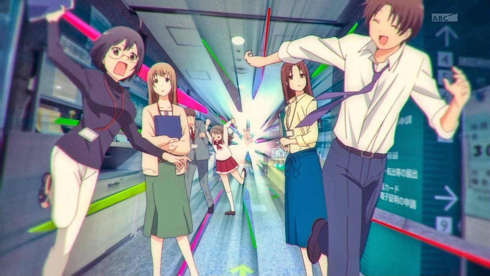 Indicação anime Servant x Service