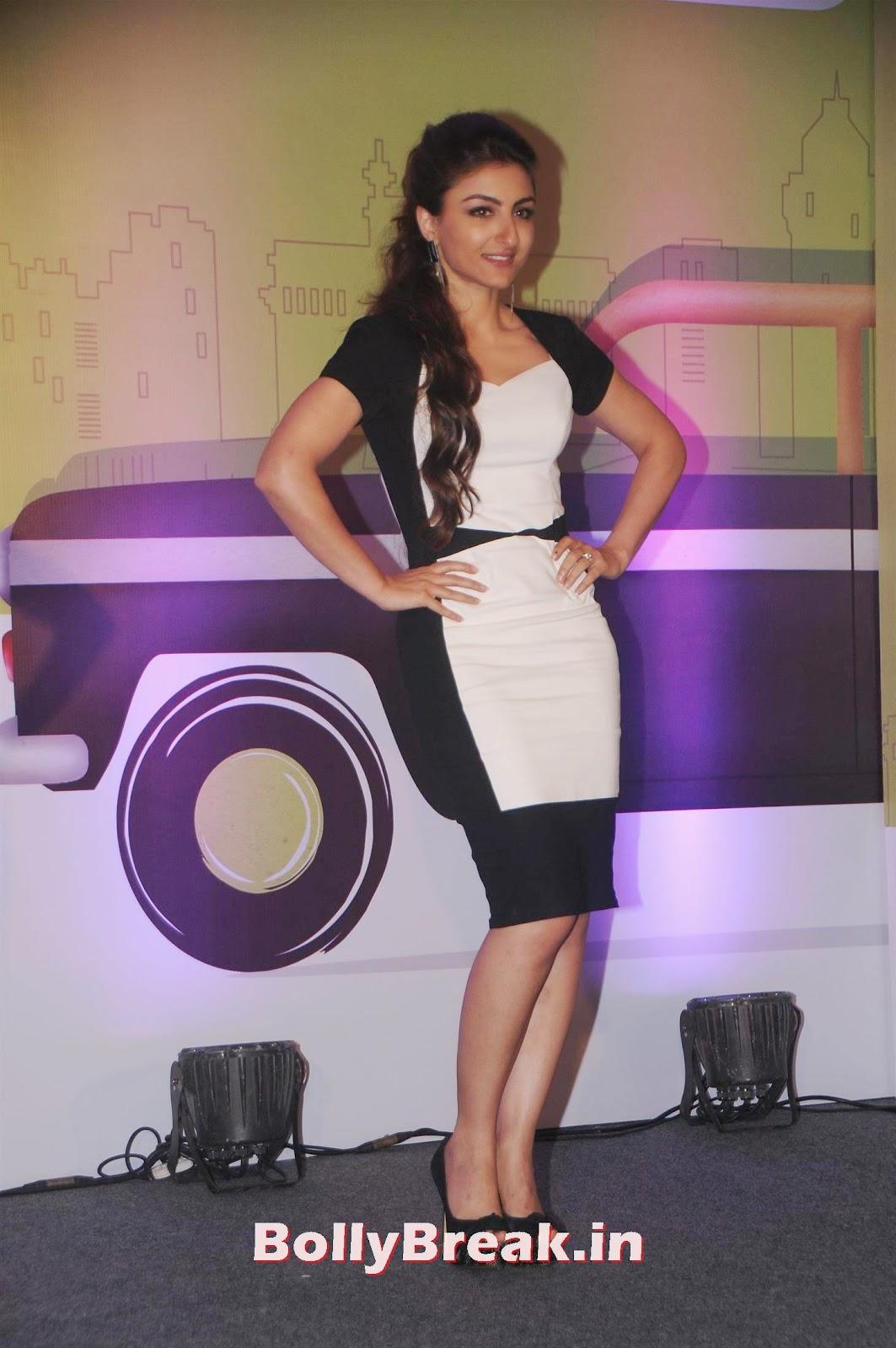 , Soha Ali Khan Photos in White tight Dress