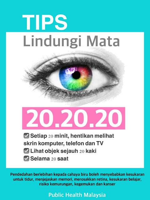 20.20.20 | Tips Lindungi Mata