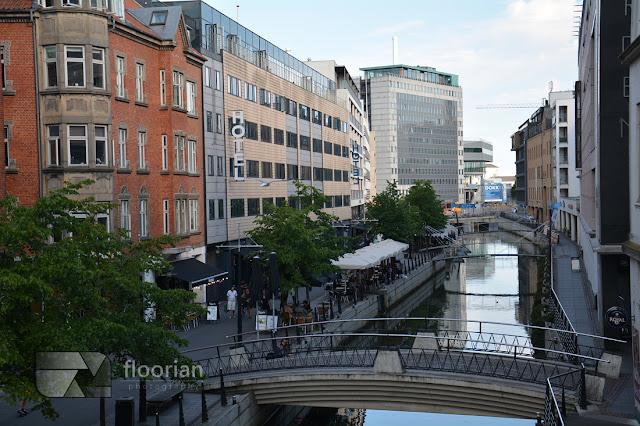 Rzeka w Aarhus - Top atrakcje turystyczne w Aarhus w Danii w Jutlandii. Co warto zobaczyć w Danii