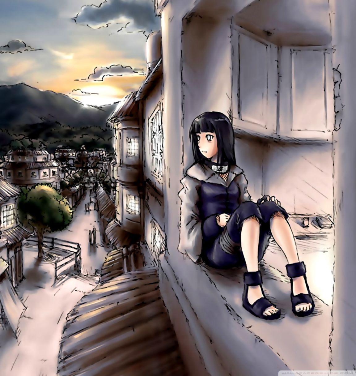 Anime Naruto Hinata Wallpaper Hd Desktop Dom Wallpapers