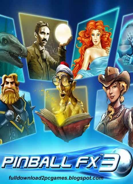 Pinball FX3 Free Download PC Game