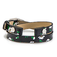 ORIGAMI OWL DAISY GENUINE LEATHER WRAP BRACELET available at StoriedCharms.com