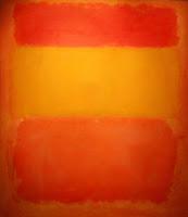 Оранжевый, красный, желтый Марко Ротко.