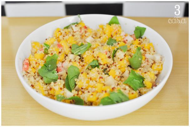 quinoa para salada