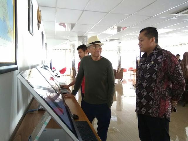 Mantan Menteri BUMN Dahlan Iskan Berkunjung ke Banyuwangi