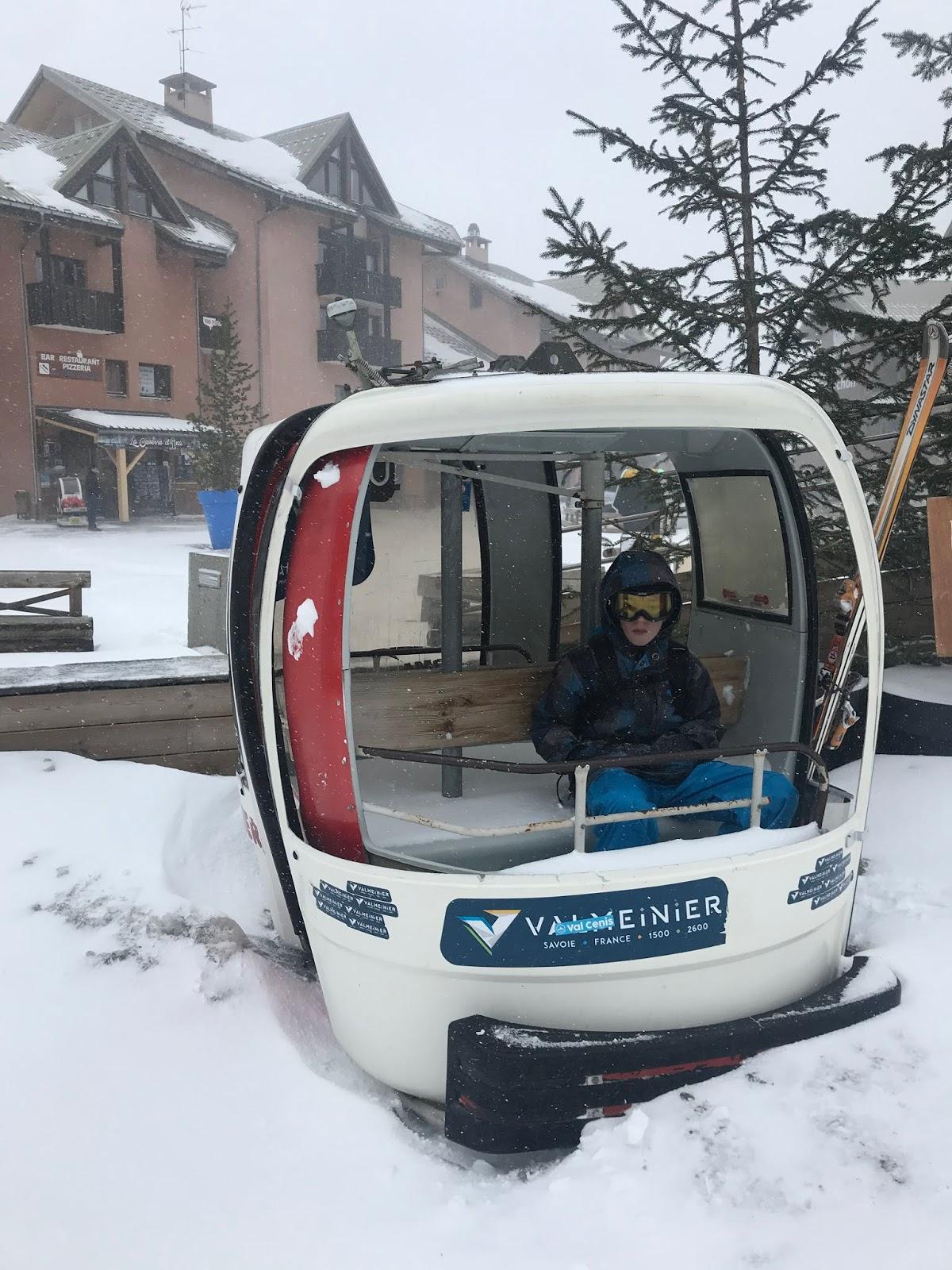 ski en famille