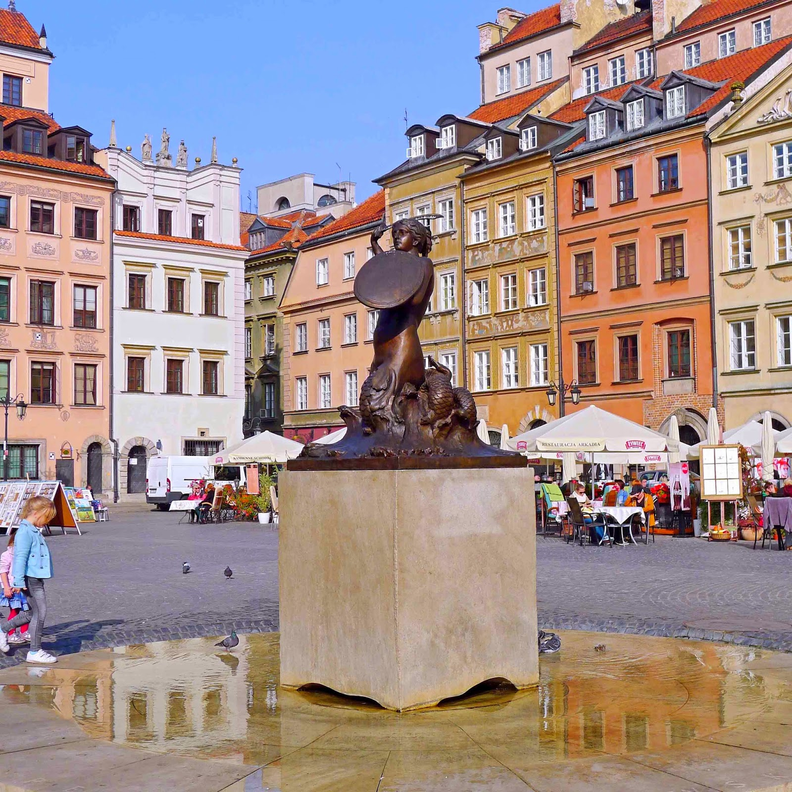 Warsaw Mermaid (Syrenka)