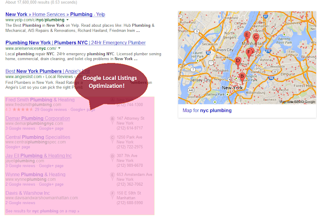Google Local Optimization