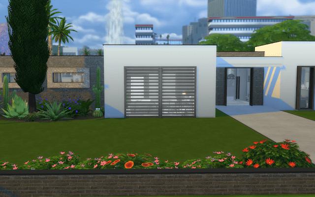 white house Sims 4