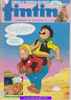Tintin-numéro 43, année 38, 1983, Alain Chevallier