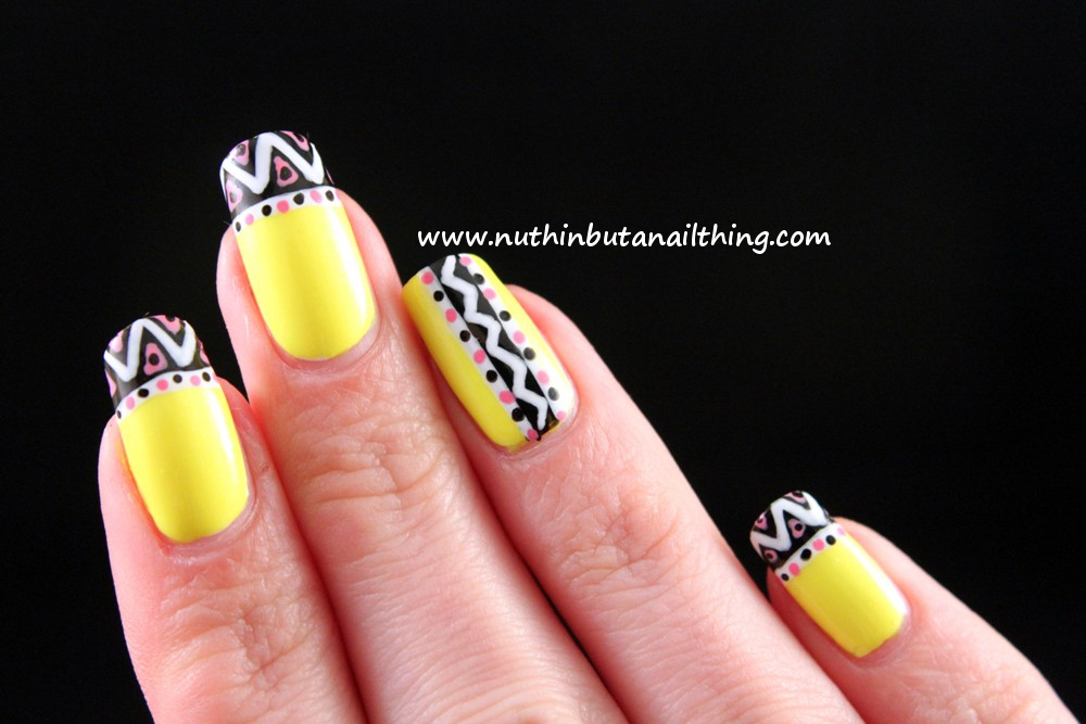 nuthin' but a nail thing: Barry M - Neon Yellow and Neon Green