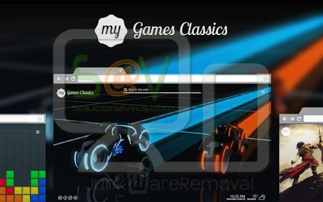 My Games Classics New Tab
