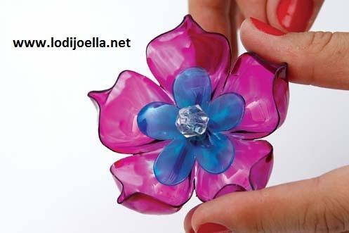 Flores Con Botellas Recicladas Lodijoella