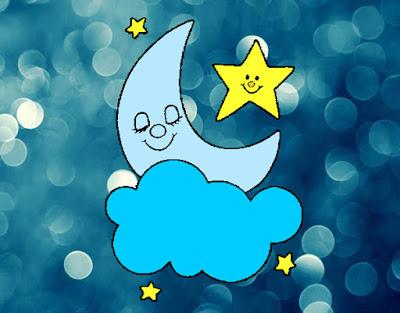 El cuento infantil de la luna y las estrellas