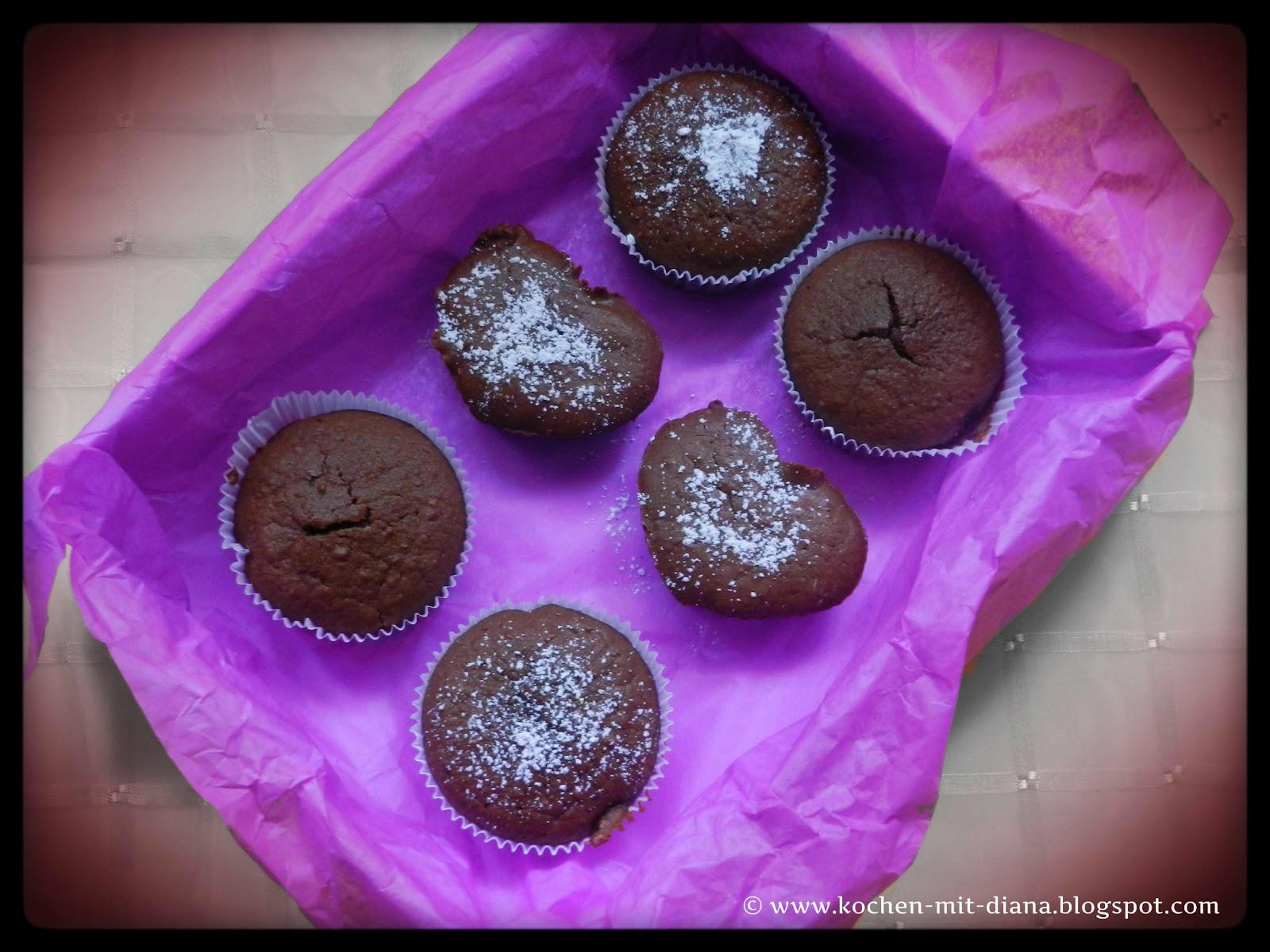 Amaretto-Schoko-Muffins