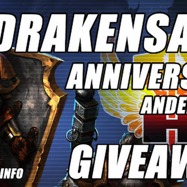 Drakensang Online's 5th Year Anniversary Andermant Giveaway