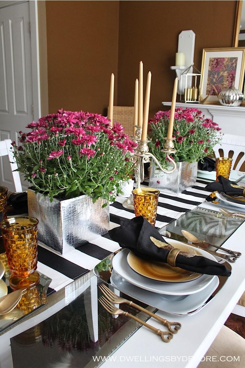 Fresh Fall Home Decorating Ideas Home Tour: Dwellings By DeVore: Modern & Fresh Fall Home Tour
