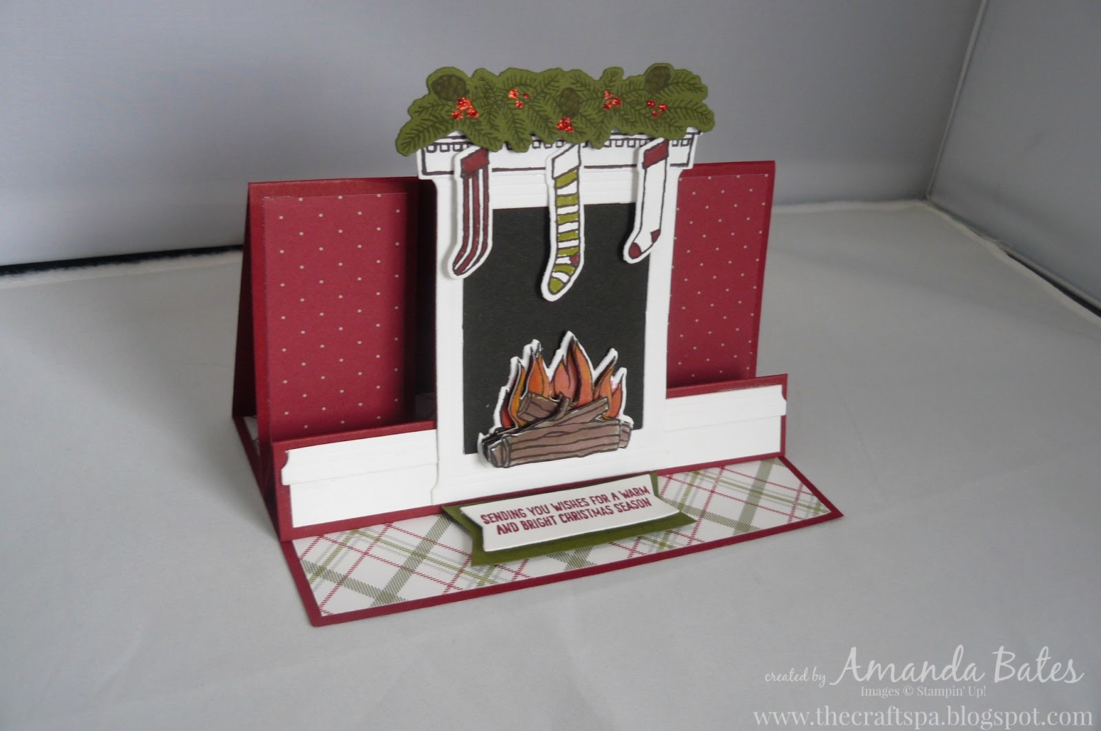 The craft spa stampin 39 up uk independent demonstrator Fireplace step