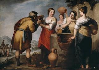 Rebeca e Eliezer - Bartolomé Murillo