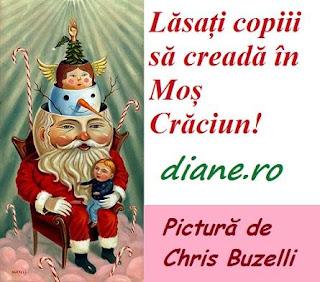 Lăsați copiii să creadă în Moș Crăciun!
