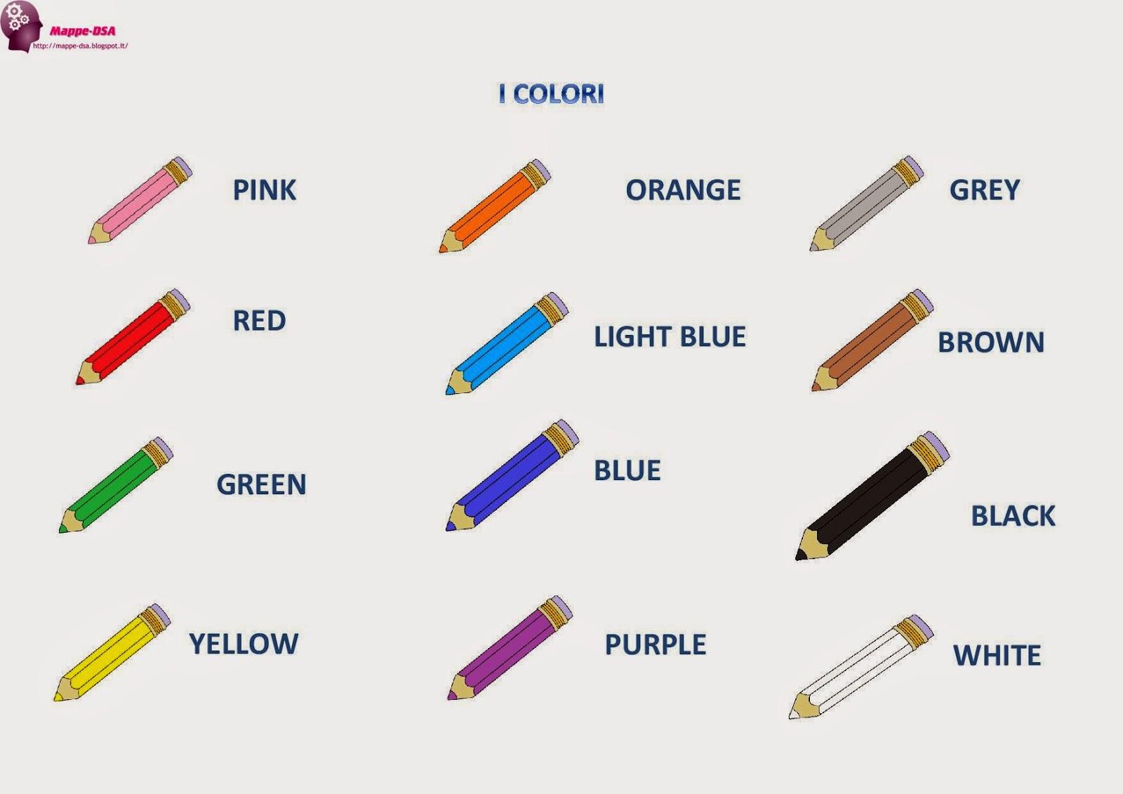 I colori - Colore per numeri per i bambini ...