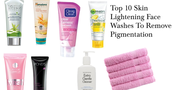 Top 10 Skin Lightening Face Washes To Remove Pigmentation|| Best