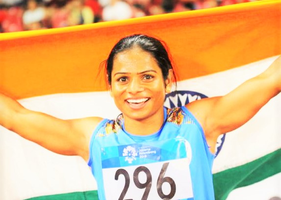 Dutee Chand second in Asian Game 2018