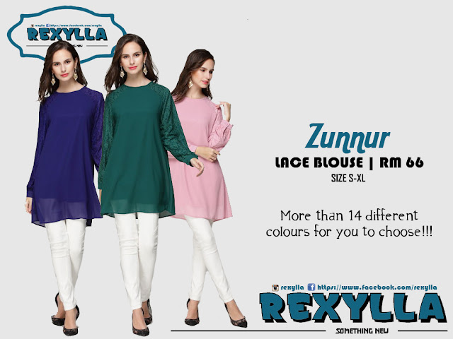 rexylla, lace blouse, zunnur collection