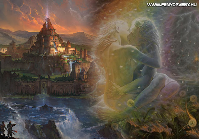 Lemuria: Ay, Teje és a Tantra kezdetei / Lemuria alámerül, Atlantisz felszínre bukkan
