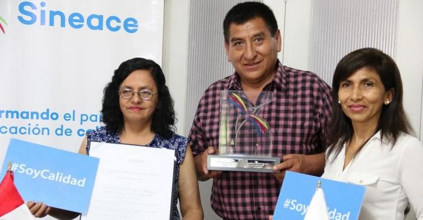 SINEACE otorga acreditación institucional al Instituto Pedagógico Público «Nuestra Señora De Lourdes» www.sineace.gob.pe