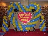 Balon Dekorasi ulang tahun sweet (17) seventeen