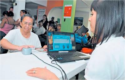 Registro biometrico huella digital