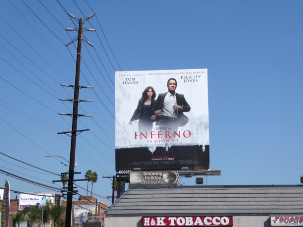 Inferno film billboard