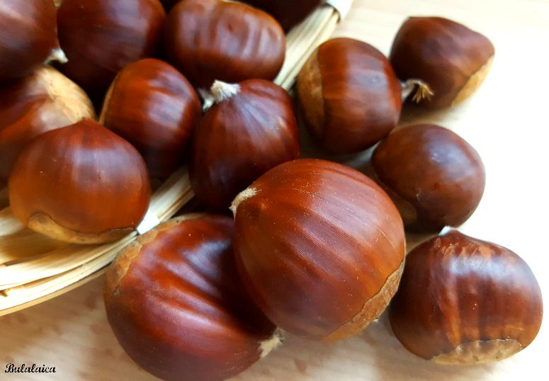 La castaña: uno de los frutos secos con menos grasa