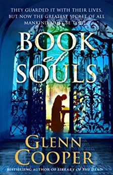 Book Review: Book of Souls, by Glenn Cooper, 4 stars