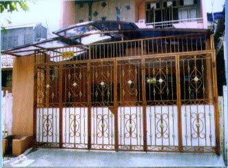 Contoh Pagar Teralis Lipat | Desain Denah Rumah Terbaru ...