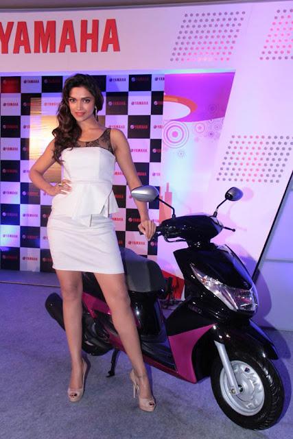 Deepika Padukone Bike Launch