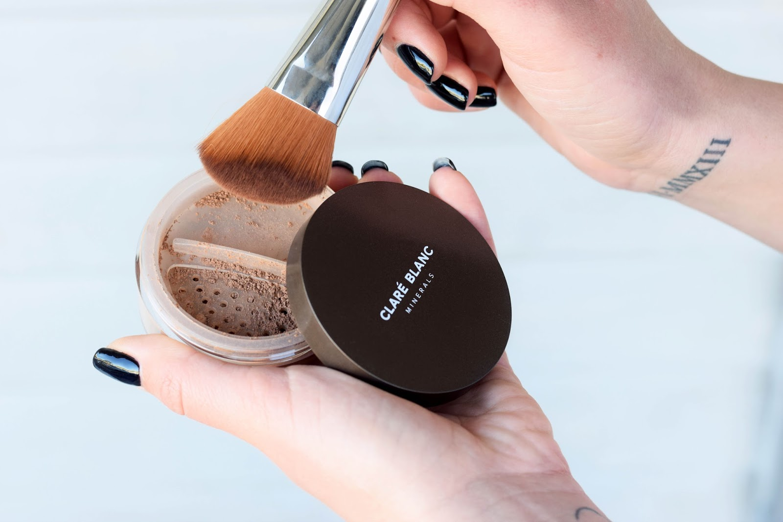 clare blanc bronzer review