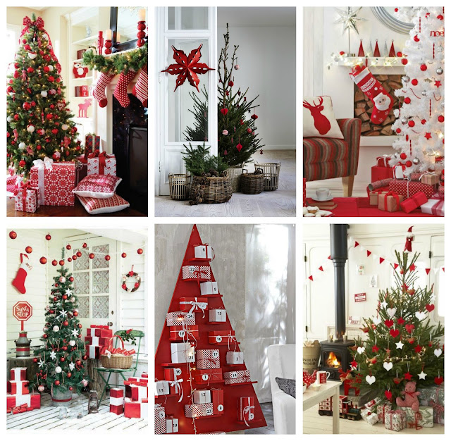 christmas deco red