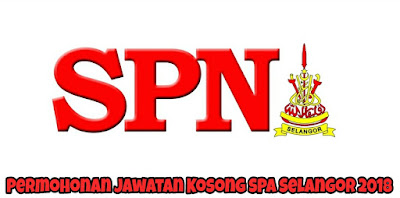 Permohonan Jawatan Kosong SPA Selangor 2018