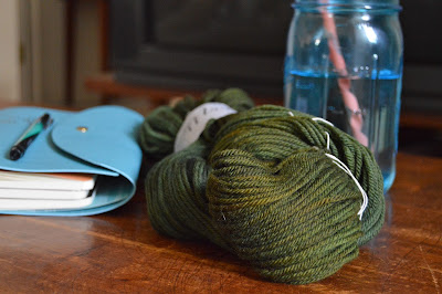 St. Patrick's Day green yarn
