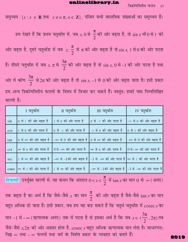 Online Library | love poems | NCRET Books in hindi: trigonometric