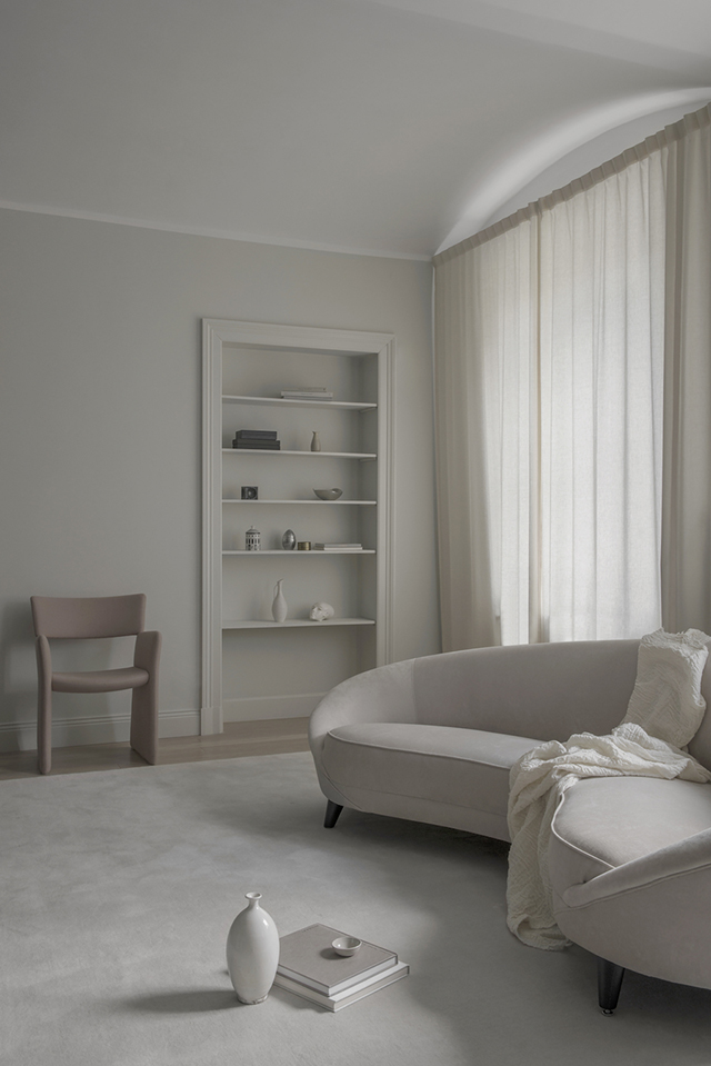 T.D.C: A Tranquil Living Room