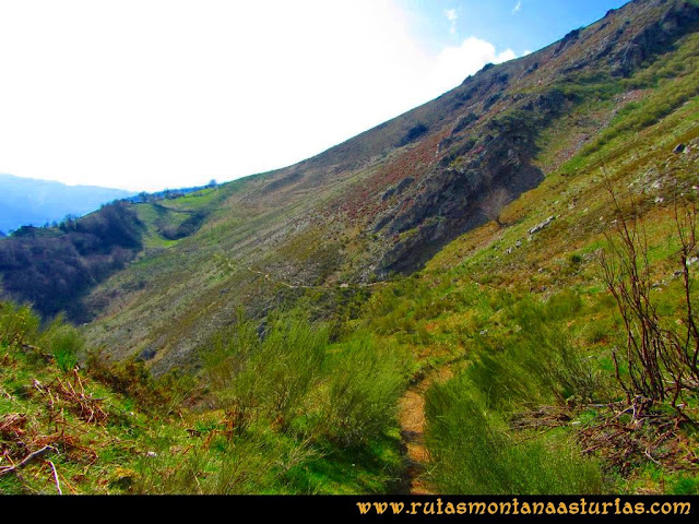 Ruta Retriñon: Camino al collado Palanca